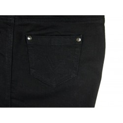 Trendy Denim rok detail achterzak