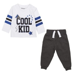 Coole jongens shirt met joggingbroek voor baby boy