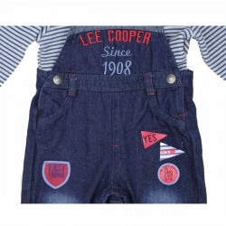 Lee Cooper tuinbroek en sweater